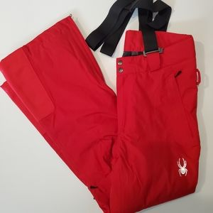 Spyder Men's Sentinel Ski Pants Red New Without Tags